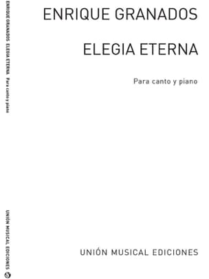 Elegia Eterna GRANADOS Partition Mélodies - laflutedepan