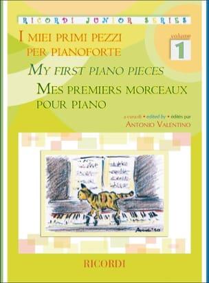 Mes premiers morceaux pour piano. Volume 1 - laflutedepan.com