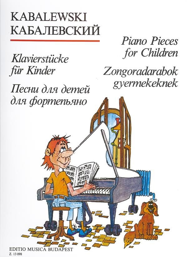 Pièces de Piano Pour Enfants. - KABALEVSKY - laflutedepan.com