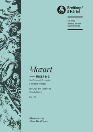 Missa In C Trinitatis-Messe K 167 - MOZART - laflutedepan.com