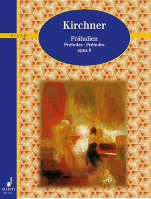 Theodor Kirchner - Preludes Op. 9 - Partition - di-arezzo.co.uk