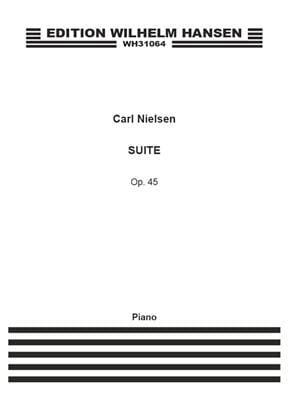 Suite Opus 45 NIELSEN Partition Piano - laflutedepan