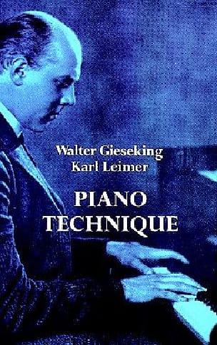 Piano Technique - Walter / Leimer Karl Gieseking - laflutedepan.com