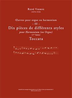 Oeuvres pour orgue. Volume 3 René Vierne Partition laflutedepan