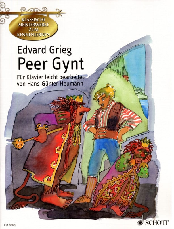 Peer Gynt - GRIEG - Partition - Piano - laflutedepan.com