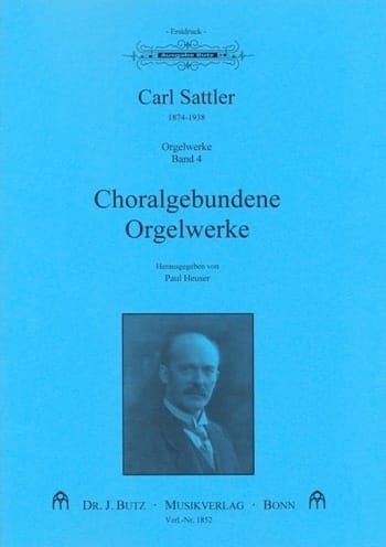 Choralgebundene Orgelwerke - Carl Sattler - laflutedepan.com