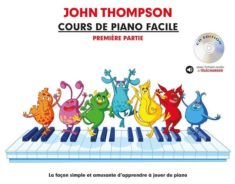 Cours de Piano Facile. Volume 1 - John Thompson - laflutedepan.com