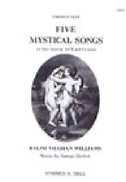5 Mystical Songs. Choeur - WILLIAMS VAUGHAN - laflutedepan.com