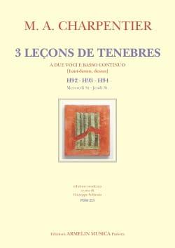 3 leçons de ténèbres H 92 - H 93 - H 94 CHARPENTIER laflutedepan