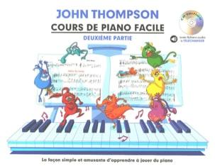John Thompson - Easy Piano Lesson Volume 2 - Partition - di-arezzo.co.uk