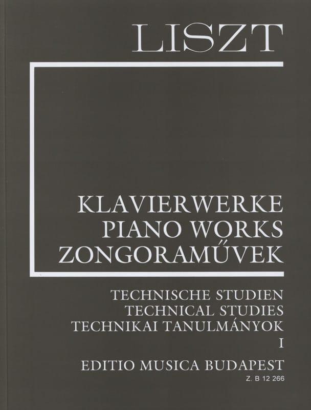 Etudes Techniques Volume 1 - LISZT - Partition - laflutedepan.com