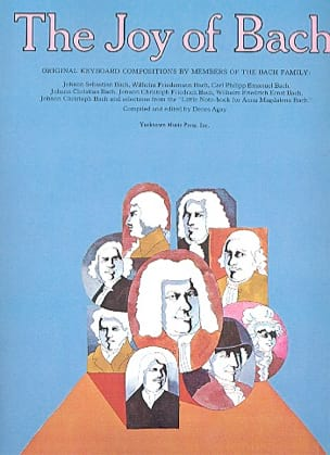 Joy of Bach Partition Piano - laflutedepan