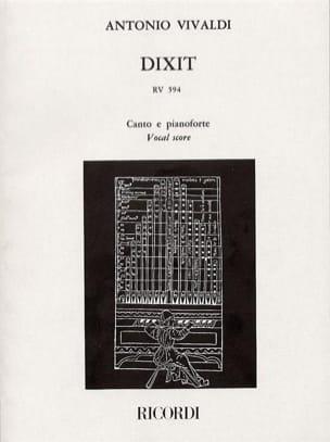 Dixit Dominus VIVALDI Partition Chœur - laflutedepan