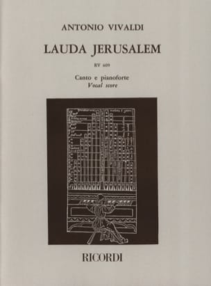 VIVALDI - Lauda Gerusalemme - Partition - di-arezzo.it