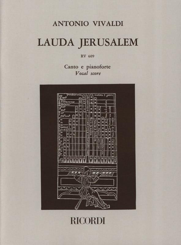 Lauda Jerusalem - VIVALDI - Partition - Chœur - laflutedepan.com