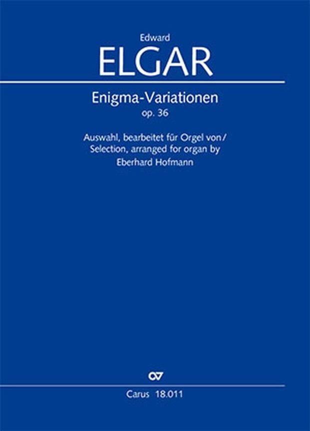 Enigma Variations Opus 36 - ELGAR - Partition - laflutedepan.com