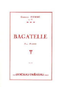 Bagatelle Opus 33 PIERNE Partition Piano - laflutedepan