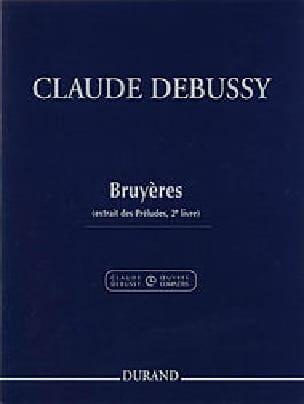 Bruyères DEBUSSY Partition Piano - laflutedepan