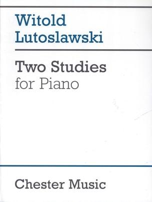 2 Etudes LUTOSLAWSKI Partition Piano - laflutedepan