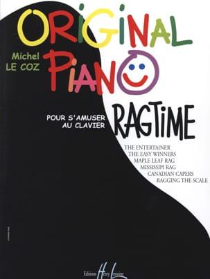 Original Piano Ragtime Michel LE COZ Partition Piano - laflutedepan