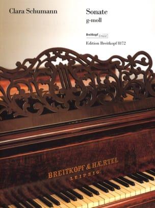 Sonate Sol mineur Clara Schumann Partition Piano - laflutedepan