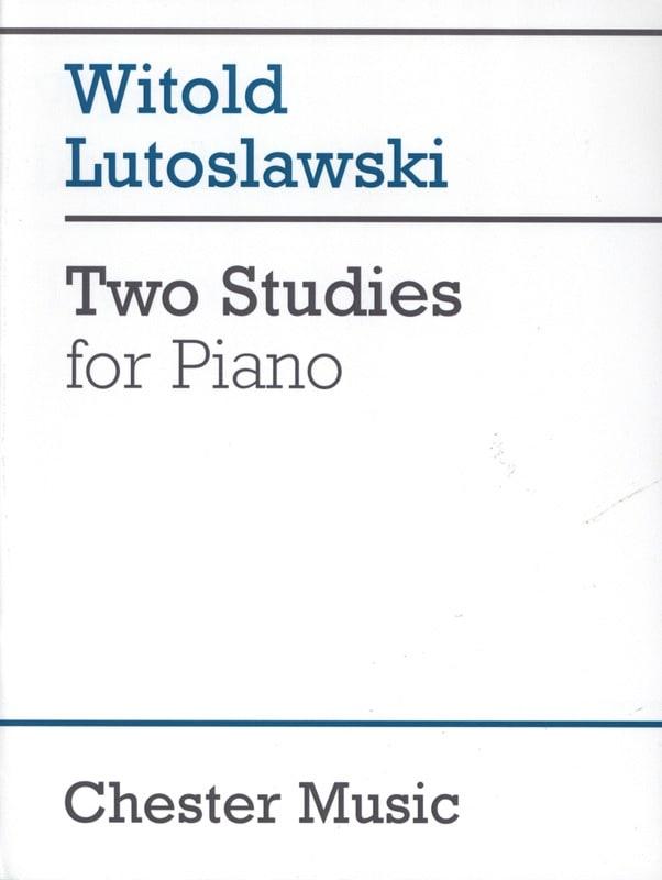 2 Etudes - LUTOSLAWSKI - Partition - Piano - laflutedepan.com