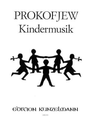 Kindermusik PROKOFIEV Partition Piano - laflutedepan