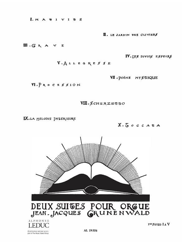 2 Suites: n° 1 - Jean-Jacques Grunenwald - laflutedepan.com