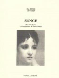 Songe Mel Bonis Partition Mélodies - laflutedepan