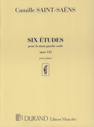 6 Etudes Opus 135 Pour la Main Gauche SAINT-SAËNS laflutedepan