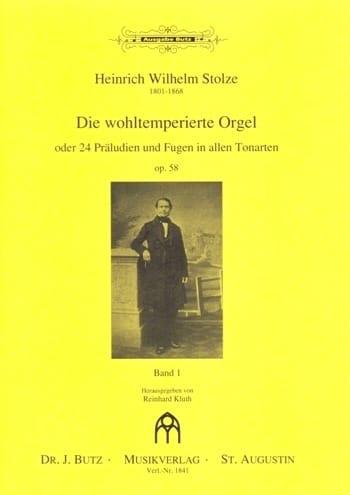 Die Wohltemperierte Orgel Op. 58 Volume 1 - laflutedepan.com