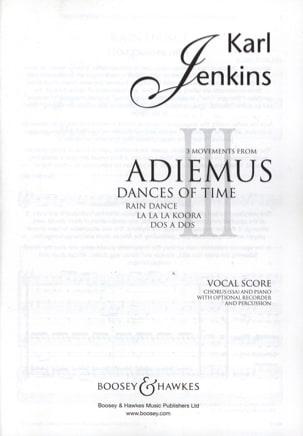 3 Movements From Adiemus Dances Of Time Karl Jenkins laflutedepan