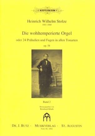 Die Wohltemperierte Orgel Op. 58 Volume 2 laflutedepan