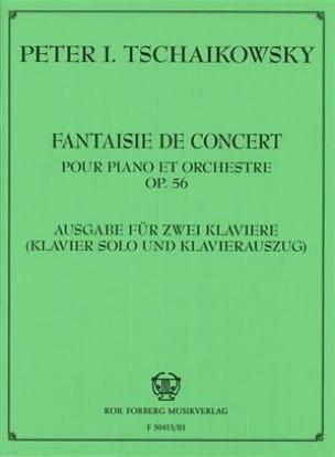 Fantaisie de Concert opus 56 TCHAIKOVSKY Partition laflutedepan