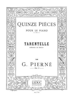 Tarentelle Opus 3-15 PIERNE Partition Piano - laflutedepan