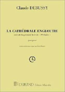 Cathédrale Engloutie - DEBUSSY - Partition - Piano - laflutedepan.com