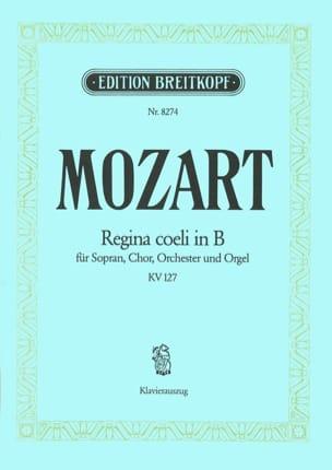 Regina Coeli Si bémol majeur K 127 - MOZART - laflutedepan.com