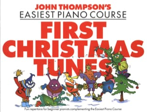 First Christmas Tunes John Thompson Partition Piano - laflutedepan
