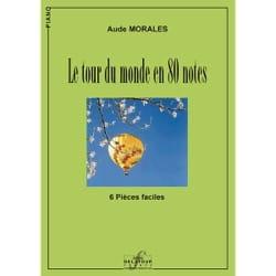 Le Tour du monde en 80 notes Aude Morales Partition laflutedepan