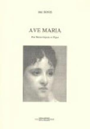 Ave Maria - Mel Bonis - Partition - Mélodies - laflutedepan.com