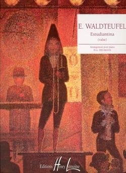 Estudiantina Opus191 Valse Emile Waldteufel Partition laflutedepan