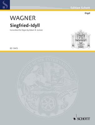 Siegfried Idyll WAGNER Partition Orgue - laflutedepan