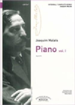 Piano. Volume 1 Joaquim Malats Partition Piano - laflutedepan