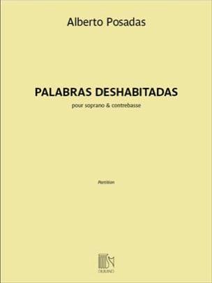 Palabras Deshabitadas Alberto Posadas Partition laflutedepan