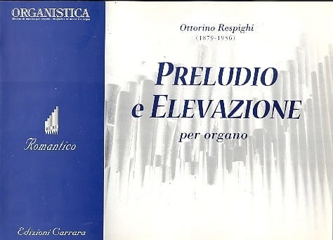 Preludio E Elevazione - RESPIGHI - Partition - laflutedepan.com