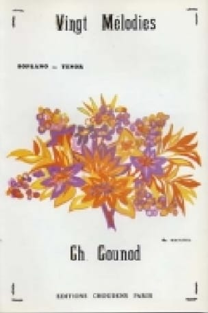 20 Mélodies Volume 4. Voix Haute - GOUNOD - laflutedepan.com