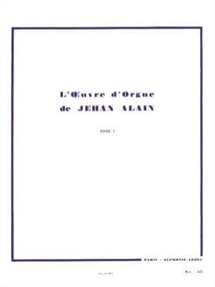 Jehan Alain - Organ Work. Volume 1 - Partition - di-arezzo.co.uk