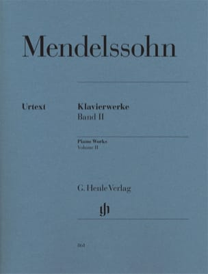 Oeuvres pour piano. Volume 2 - MENDELSSOHN - laflutedepan.com