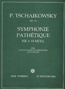 Symphonie Pathétique Opus 74 TCHAIKOVSKY Partition laflutedepan