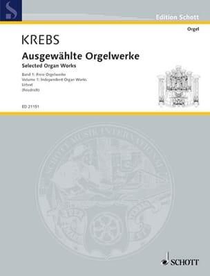 Selected organ works. Volume 1 Johann Ludwig Krebs laflutedepan